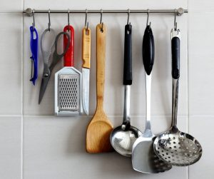 wall hung utensils