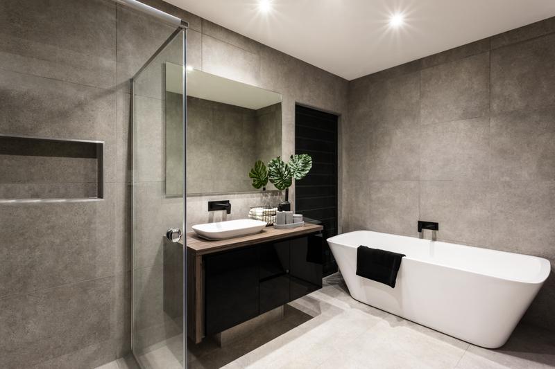 grey luxury bathroom